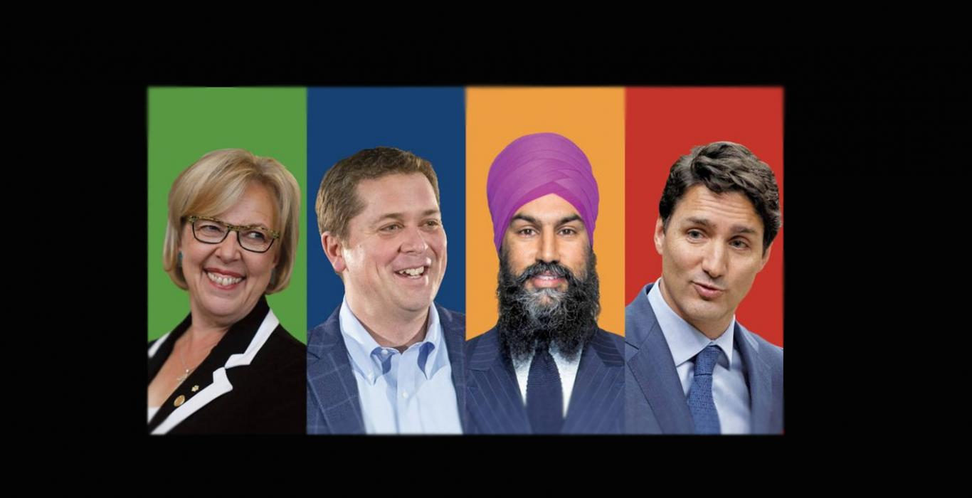 Canadian Federal Party Leaders 2019