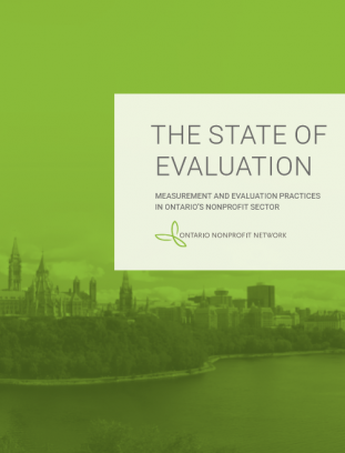 The State of Evaluation in Ontario