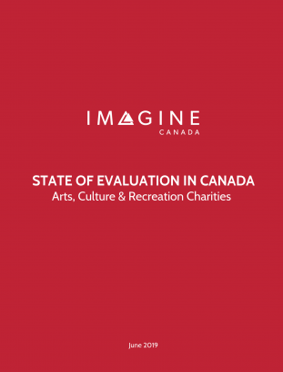 State of Evaluation in Canada: Arts, culture and recreation charities
