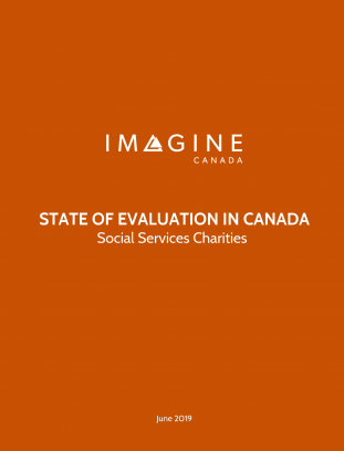 State of Evaluation in Canada: Social Services Charities